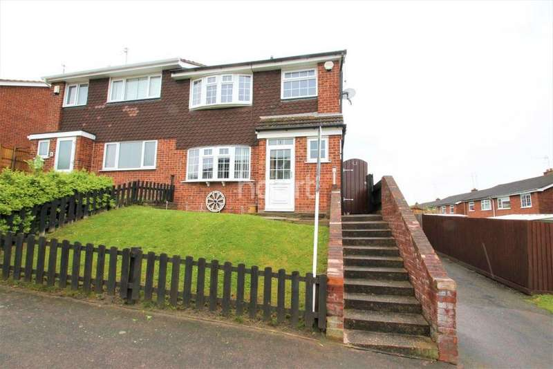3 Bedrooms Semi Detached House for sale in Green Walk, Western Park, Leicester