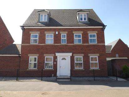 5 Bedrooms Detached House for sale in Hornbeam Way, Kirkby-In-Ashfield, Nottingham