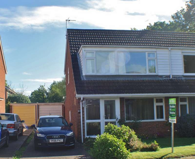 3 Bedrooms Semi Detached House for sale in Knightswood, Hampton Park, HEREFORD, HR1