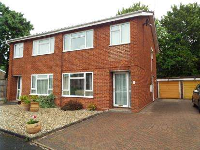 3 Bedrooms Semi Detached House for sale in Middleton Close, Redditch, Worcestershire