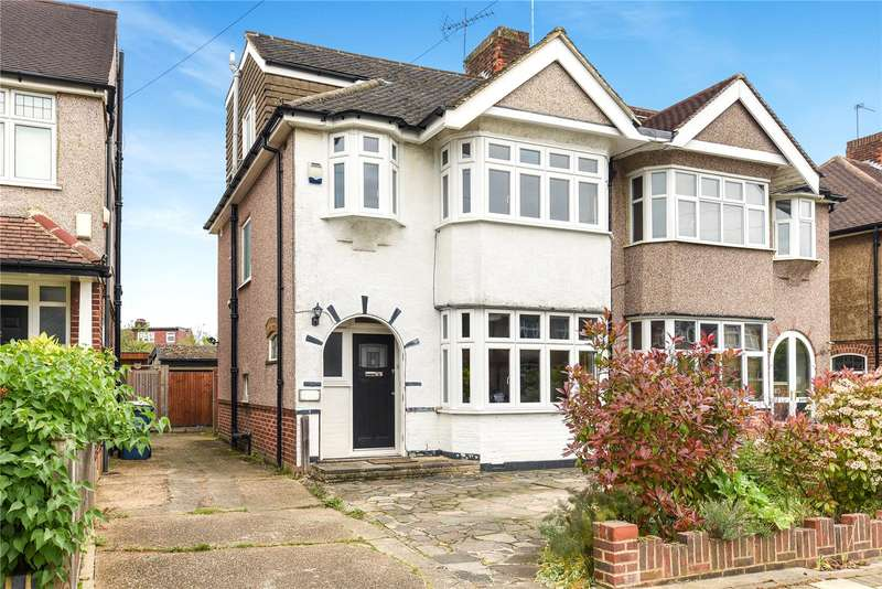 4 Bedrooms Semi Detached House for sale in Hill Road, Pinner, Middlesex, HA5