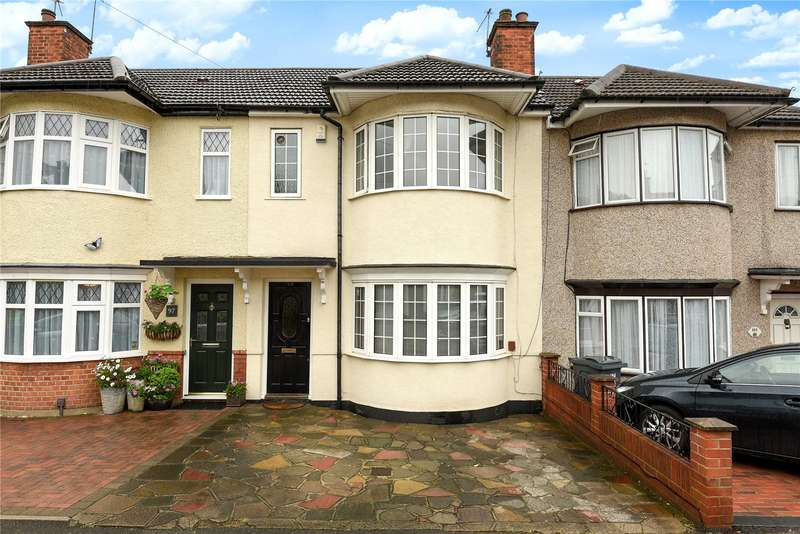 3 Bedrooms Terraced House for sale in Brixham Crescent, Ruislip Manor, Middlesex, HA4