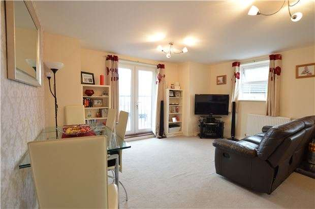 2 Bedrooms Flat for sale in Normandy Drive, Yate, BRISTOL, BS37 4FG
