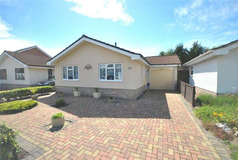 2 Bedrooms Detached Bungalow for sale in Ebdon Road, Worle, Weston-Super-Mare, North Somerset, BS22