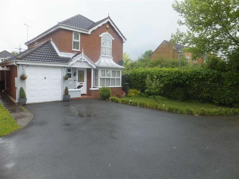 4 Bedrooms Detached House for sale in Sterling Way, Nuneaton, Warwickshire, CV11