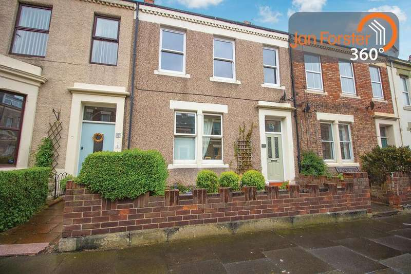 3 Bedrooms Maisonette Flat for sale in Prudhoe Terrace, Tynemouth