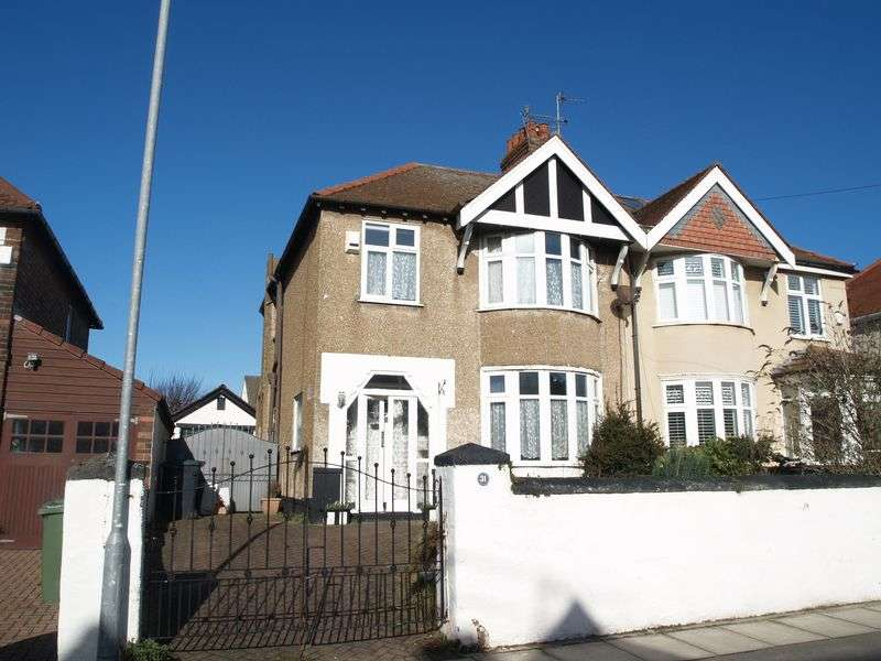 3 Bedrooms Semi Detached House for sale in Leopold Road, Brighton-Le-Sands, Liverpool L22