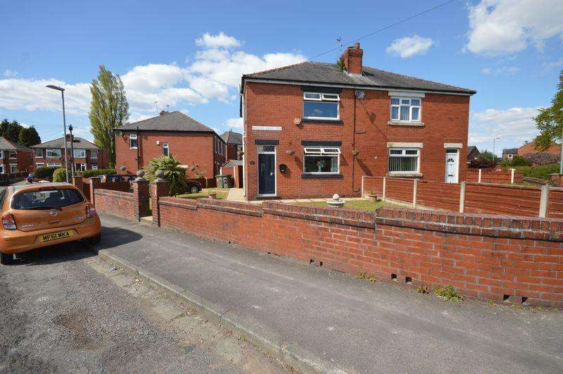 3 Bedrooms Semi Detached House for sale in Wrigley Head Crescent, Manchester