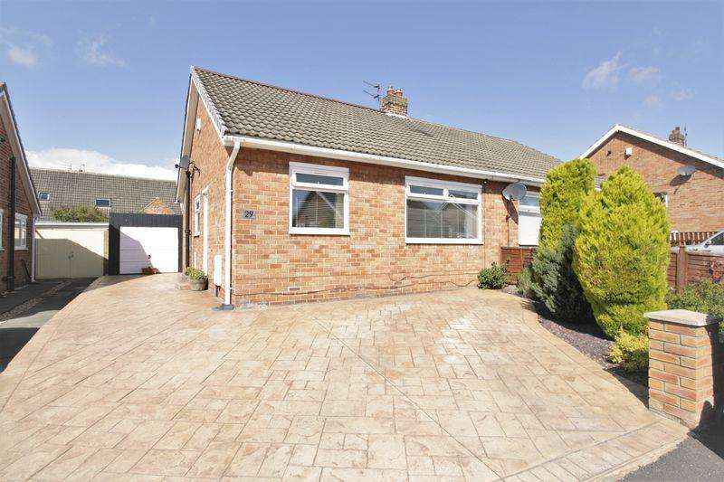 2 Bedrooms Semi Detached House for sale in Welldale Crescent, Fairfield, Stockton, TS19 7HU