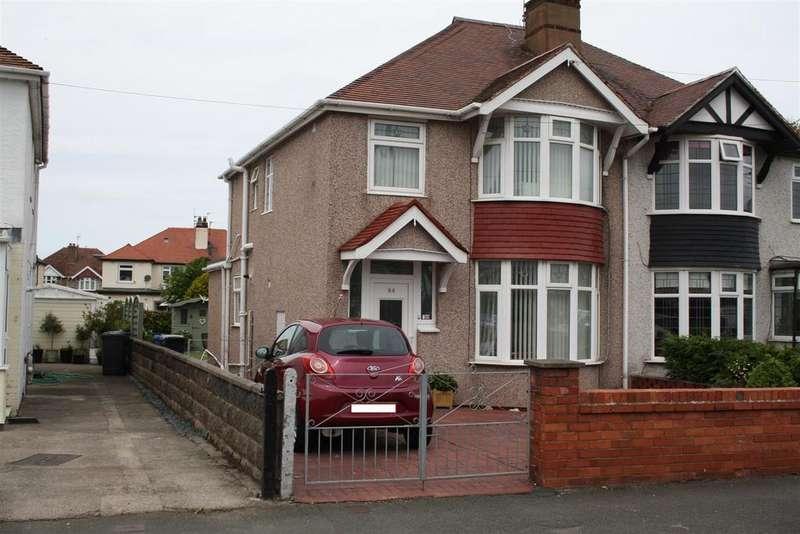 3 Bedrooms Semi Detached House for sale in Pendyffryn Road North, Rhyl