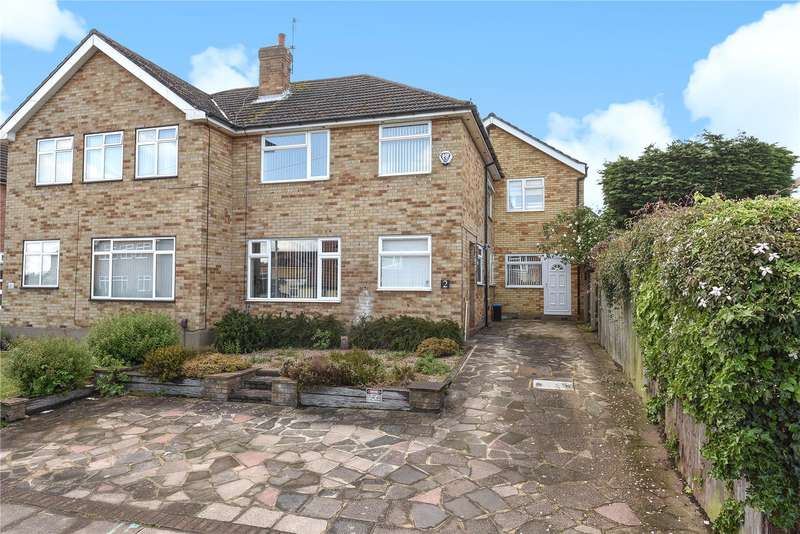 4 Bedrooms Semi Detached House for sale in Maylands Drive, Uxbridge, Middlesex, UB8