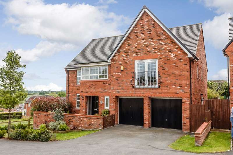 5 Bedrooms Detached House for sale in Greenfields Lane, Malpas, Cheshire SY14
