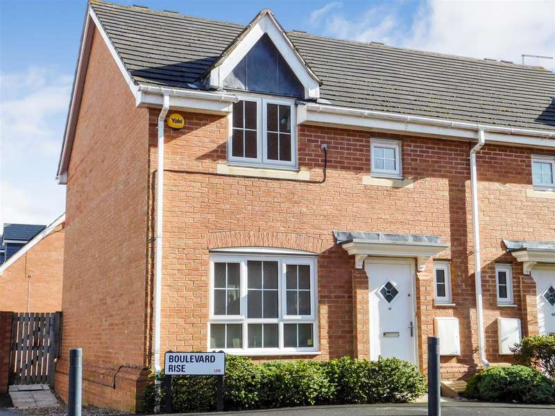 3 Bedrooms Semi Detached House for sale in Fresh & Modern - ready to move into, Boulevard Rise, New Forest Village