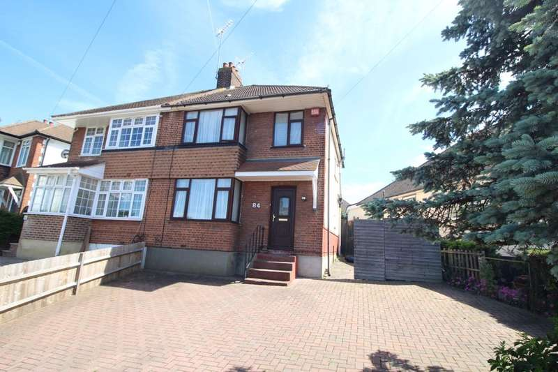 3 Bedrooms Semi Detached House for sale in Lamorna Avenue, Gravesend, DA12