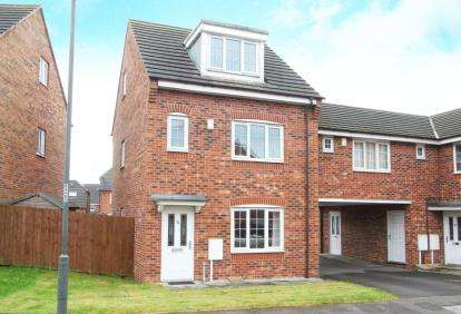 4 Bedrooms Town House for sale in Spinkhill View, Renishaw, Sheffield, Derbyshire