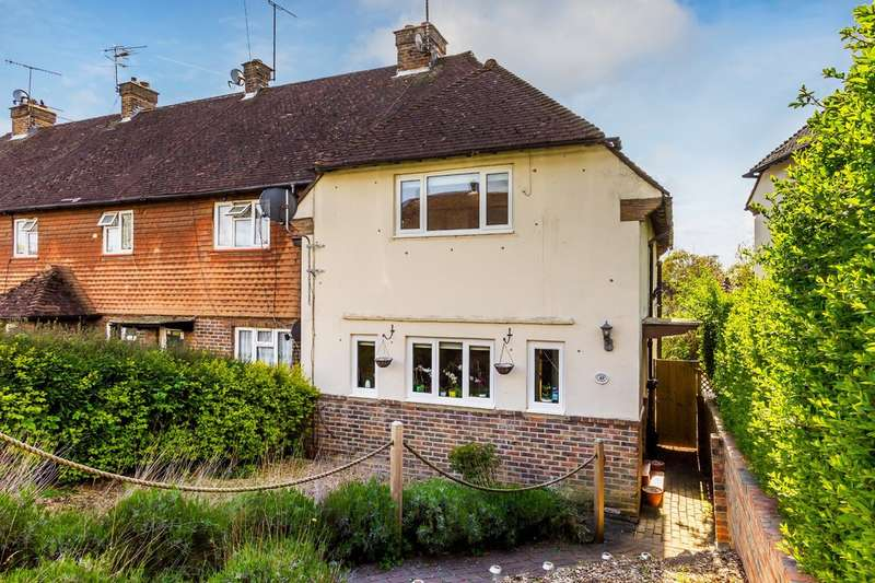 2 Bedrooms End Of Terrace House for sale in Hurst Green, Surrey