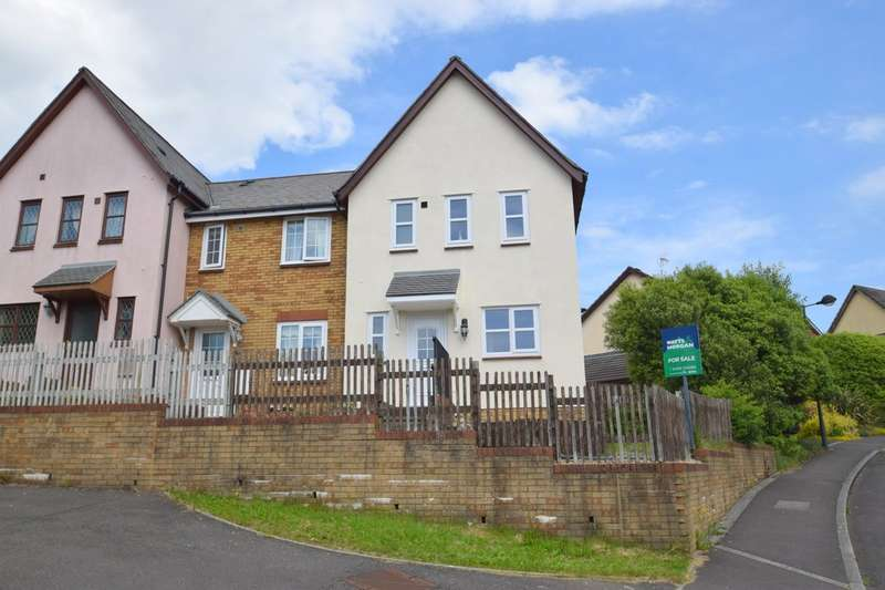 3 Bedrooms End Of Terrace House for sale in 48 Trem-Y-Dyffryn, Broadlands, Bridgend, Bridgend County Borough, CF31 5AP.