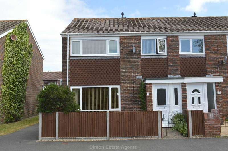 3 Bedrooms End Of Terrace House for sale in High Drive, Bridgemary
