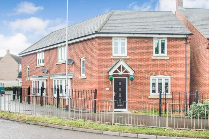 3 Bedrooms Semi Detached House for sale in Finedon Road, Wellingborough
