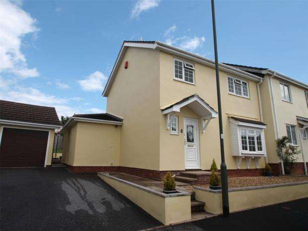 4 Bedrooms Semi Detached House for sale in Hound Tor Close, Hookhills, Paignton, Devon