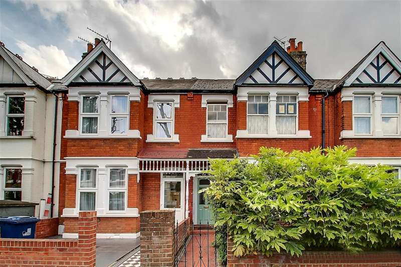3 Bedrooms Terraced House for sale in Midhurst Road, Northfields, W13 9XT