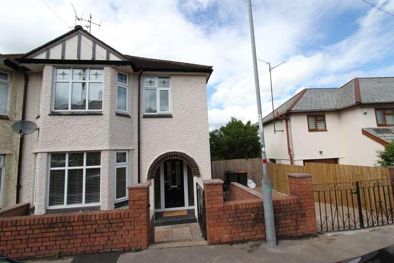 3 Bedrooms Semi Detached House for sale in Queens Hill Crescent, Newport