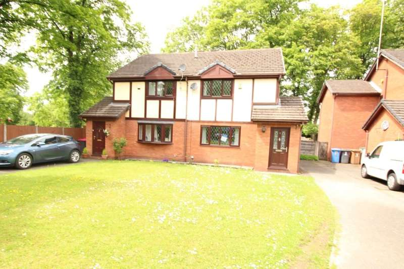 3 Bedrooms Semi Detached House for sale in Old Vicarage Gardens, MANCHESTER, M28