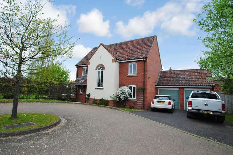 4 Bedrooms Detached House for sale in Chapel Close, North Curry