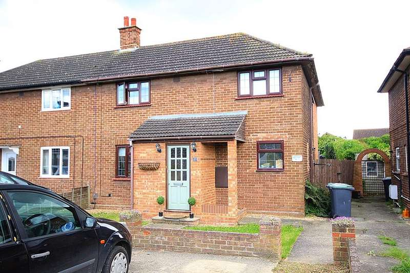 4 Bedrooms Semi Detached House for sale in Jubilee Crescent, Arlesey, SG15