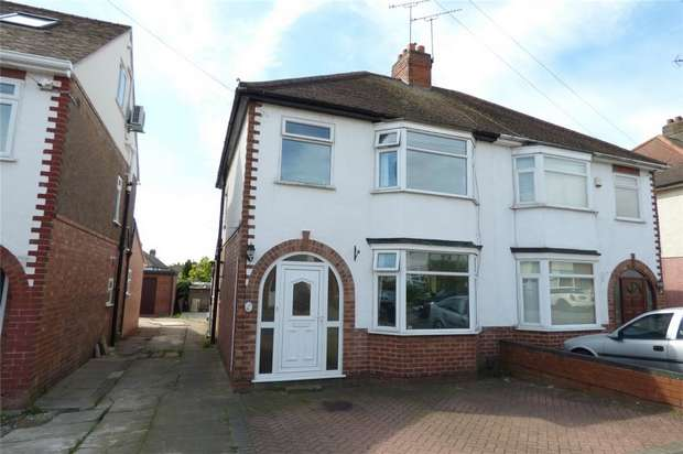 3 Bedrooms Semi Detached House for sale in Oakdene Crescent, Weddington, Nuneaton, Warwickshire