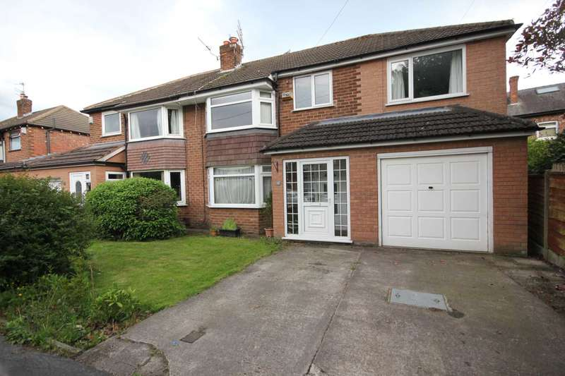 4 Bedrooms Semi Detached House for sale in Rushside Road, Cheadle Hulme