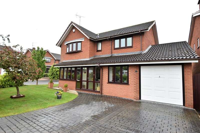 4 Bedrooms Detached House for sale in Avoncroft Road, Bromsgrove
