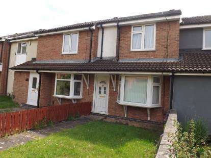 2 Bedrooms Terraced House for sale in Mimosa Close, Barton Green, Nottingham