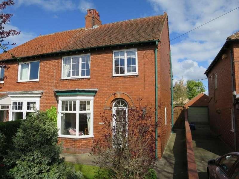 4 Bedrooms Semi Detached House for sale in 123 Welham Road, Norton YO17 9DU