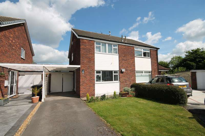3 Bedrooms Semi Detached House for sale in Orchard Way, York, YO24 2NY