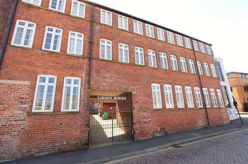 1 Bedroom Flat for sale in Gibson Works, Mary Street, Sheffield, S1 4RQ