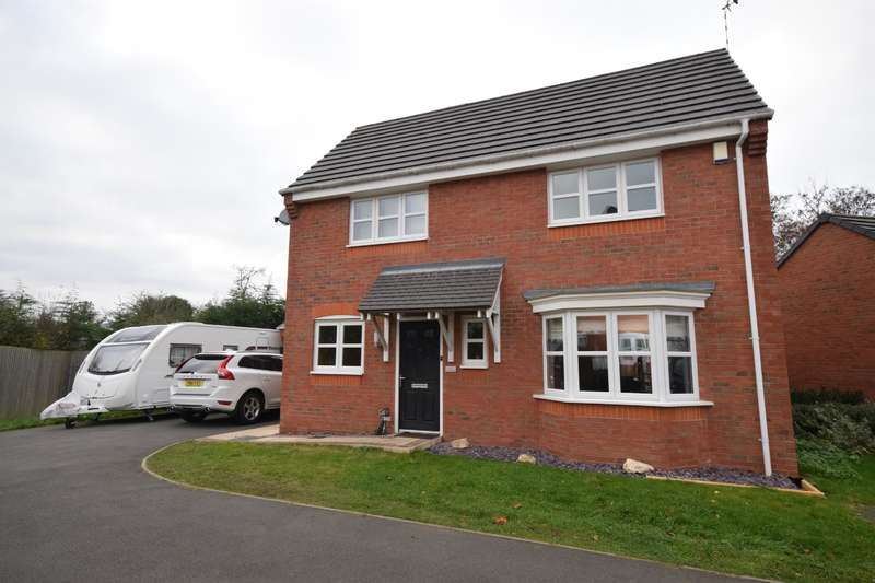 4 Bedrooms Detached House for sale in Thorpe Gardens, Littlethorpe, Leicester, LE19 2LD