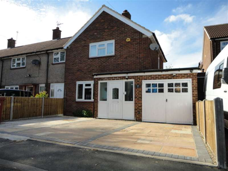 2 Bedrooms End Of Terrace House for sale in Knolton Way, Wexham, Slough Berkshire, SL2 5TA
