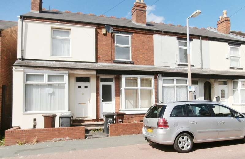2 Bedrooms Terraced House for sale in Leicester Street, Whitmore Reans