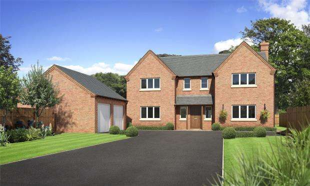 4 Bedrooms Detached House for sale in Tedsmore Grange, Plot 2, West Felton, Oswestry