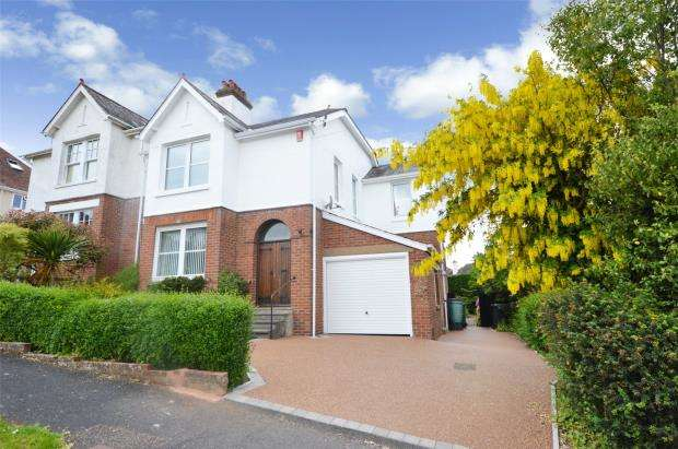 4 Bedrooms Semi Detached House for sale in Sylvan Avenue, Lower Pennsylvania, Exeter, Devon