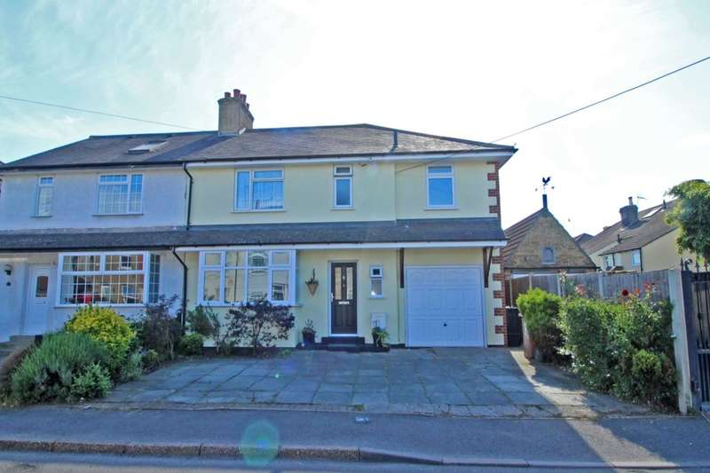 4 Bedrooms Semi Detached House for sale in Tredegar Road, DARTFORD, DA2
