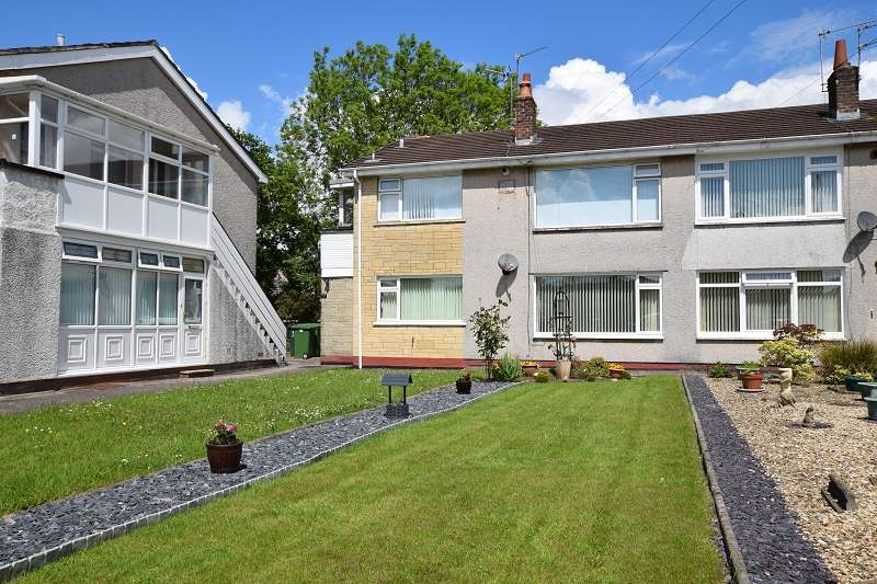2 Bedrooms Ground Maisonette Flat for sale in Heol Briwnant , Rhiwbina, Cardiff. CF14 6QH