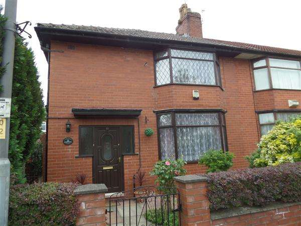 3 Bedrooms Semi Detached House for sale in Rosslyn Road, Manchester