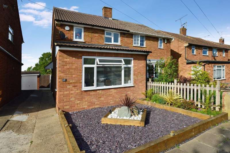 3 Bedrooms Semi Detached House for sale in Wandon Close, Putteridge, Luton, LU2 8DX