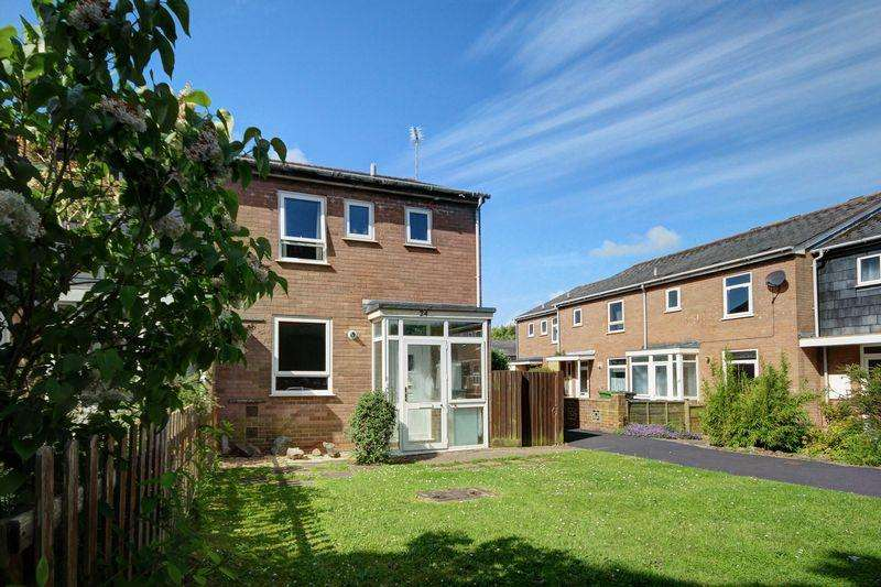 3 Bedrooms End Of Terrace House for sale in Chanter Court, Exeter