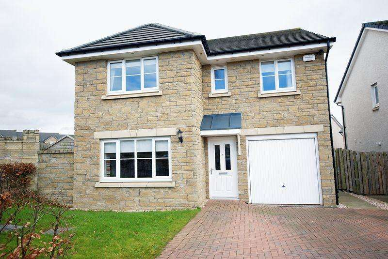 4 Bedrooms Detached House for sale in 1 Hayfield Drive, Stewarton KA3 3DR