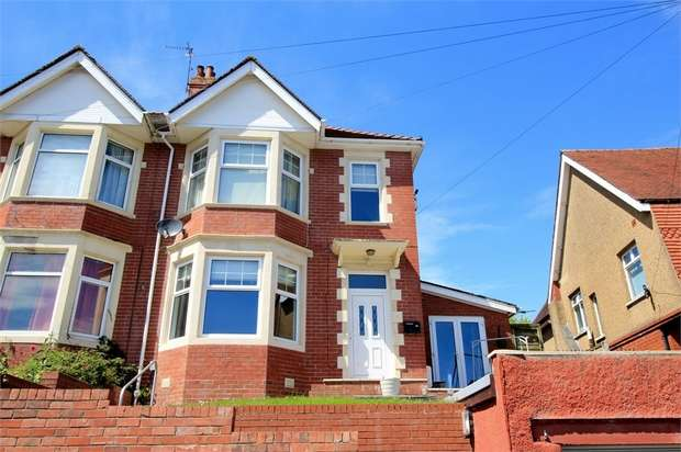 4 Bedrooms Semi Detached House for sale in Southville Road, NEWPORT