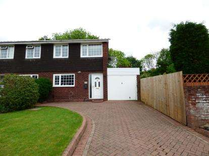 3 Bedrooms Semi Detached House for sale in HartleyBurn, Wilnecote, Tamworth, Staffordshire
