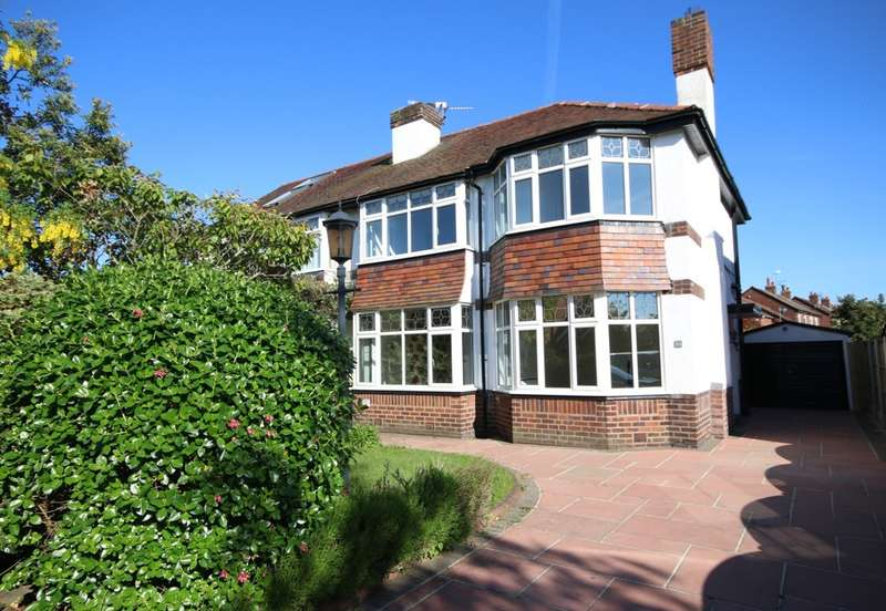 3 Bedrooms Semi Detached House for sale in Larkfield Lane, Churchtown, Southport